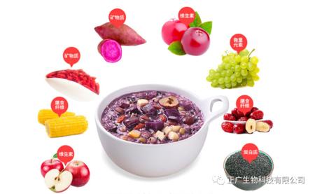 多种杂粮营养紫薯魔芋颗粒粥代加工新萄京p222入口生物